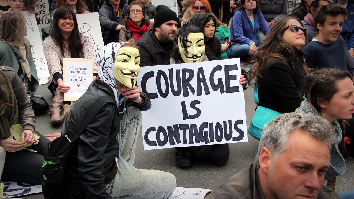 Le courage des lanceurs d'alerte est contagieux