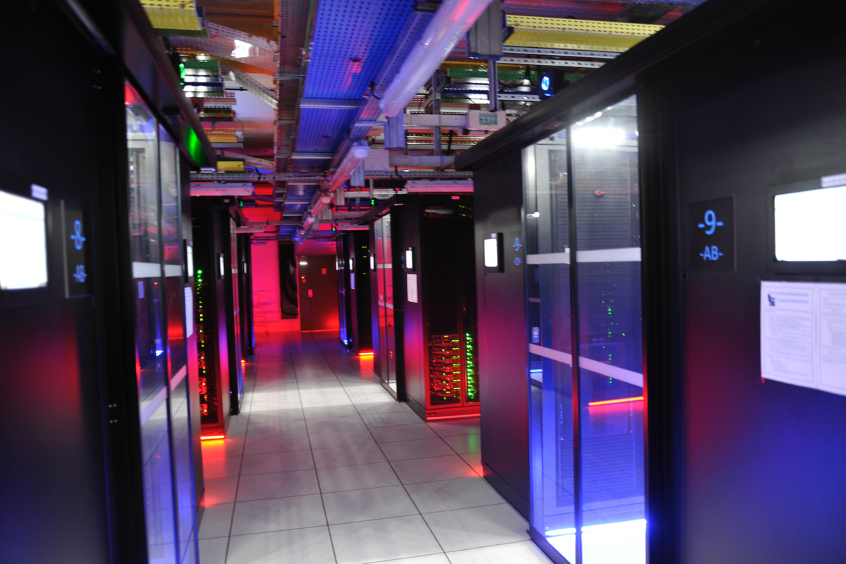 Datacenter DIRISI - © Reflets - Citation Reflets.info requise