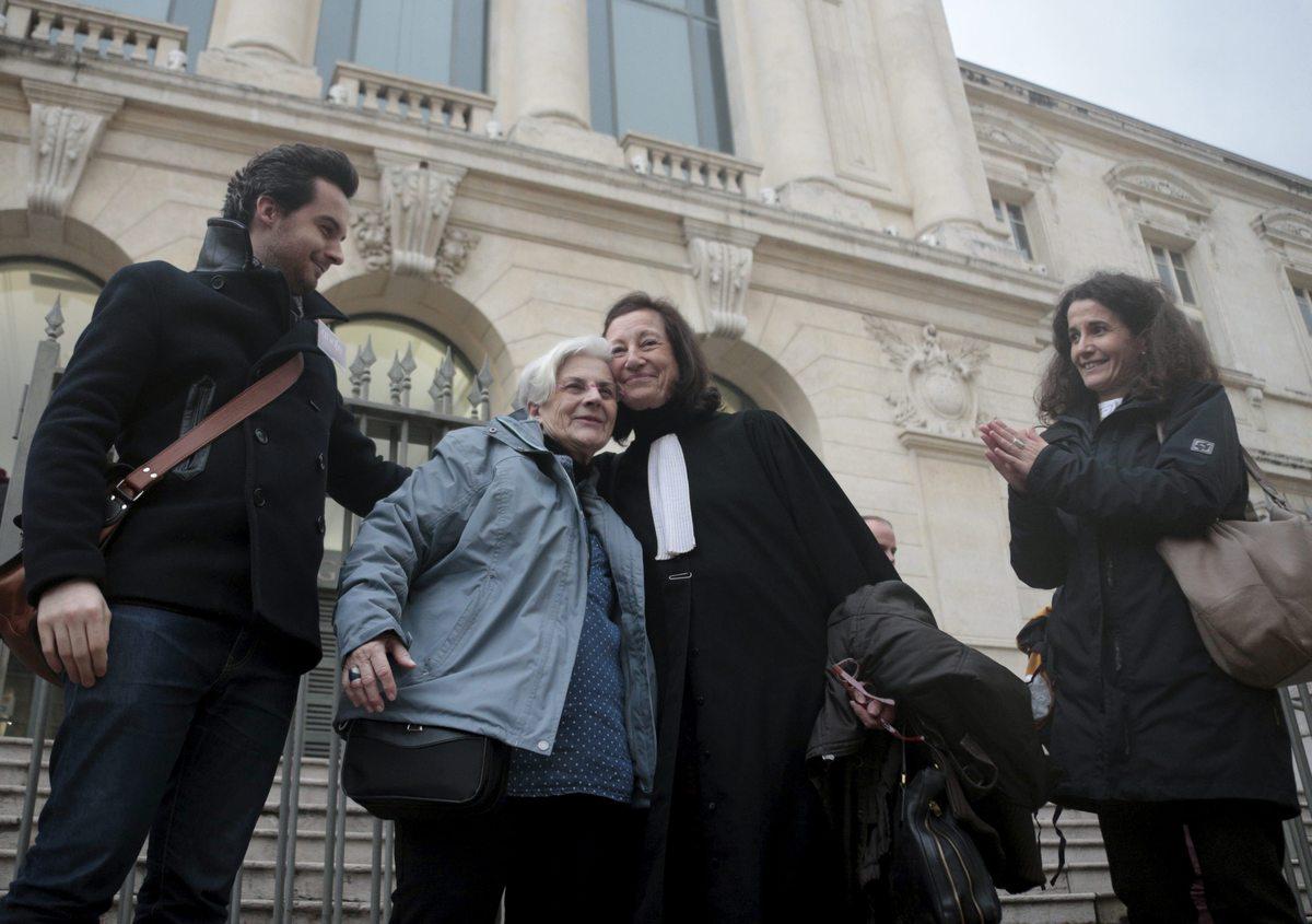 Martine Landry et Me Damiano - AMNESTY - ANAFE - D.R.