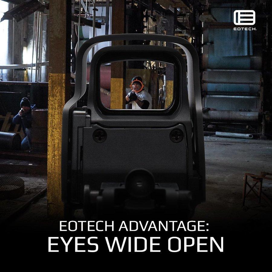 Publicité pour un viseur EOTech - EOTech